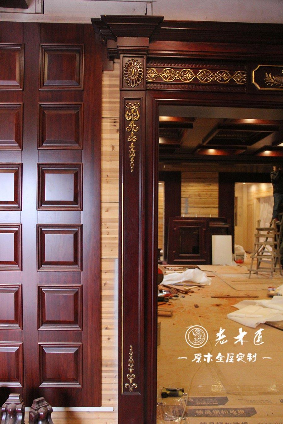 漳州本部原木体验馆(漳州展厅),占地面积2000多平方米,包括客厅