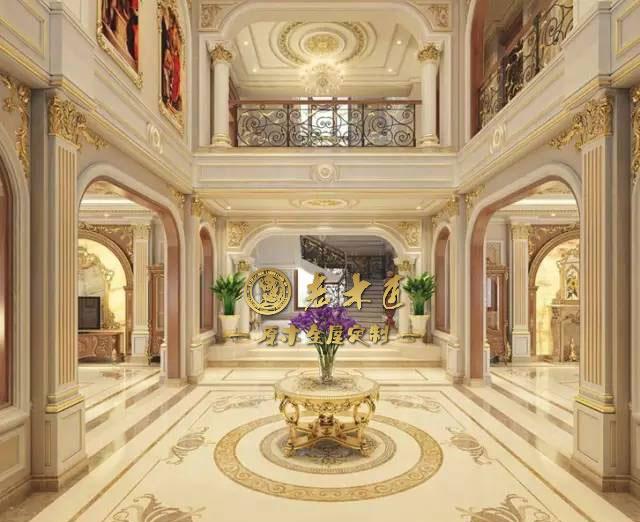 法式风格—诠释贵族高贵奢华是典型的宫廷装修代表.