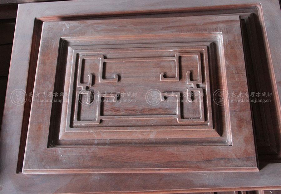 老木匠新中式系列平开门板
