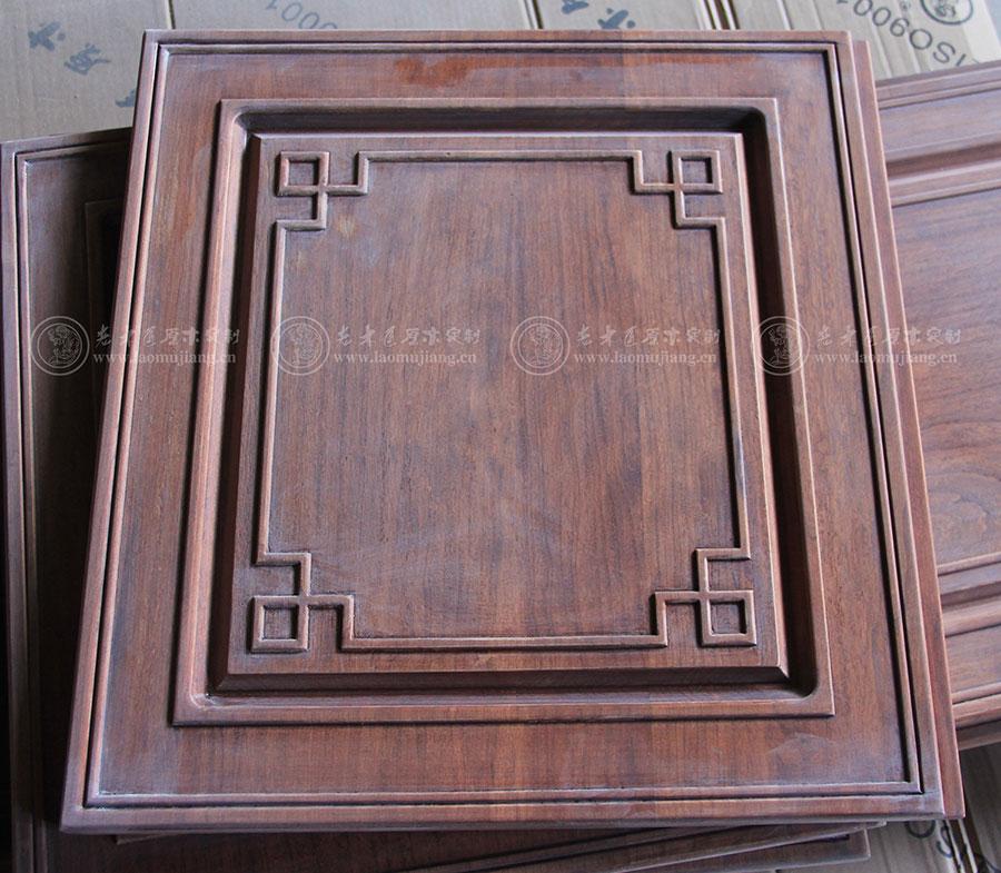 老木匠新中式平开门板