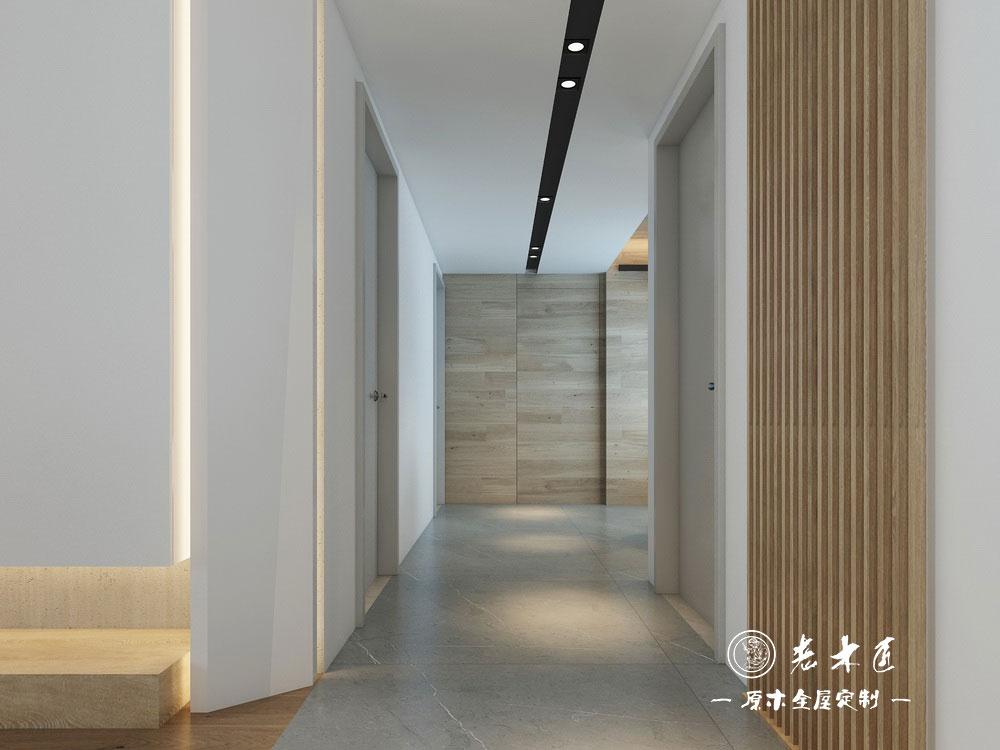 这是一套120平的四居室房,业主说喜欢轻奢现代风,要求设...