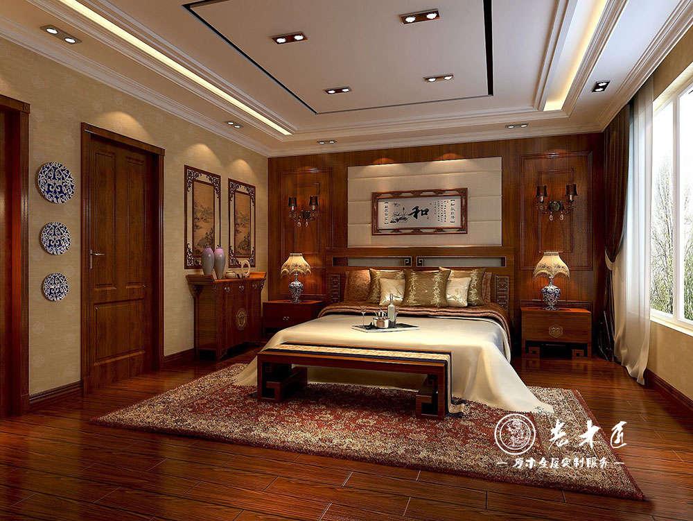 老木匠卧室背景墙高端定制