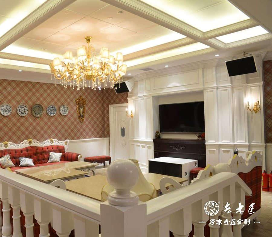老木匠欧式客厅背景墙定制