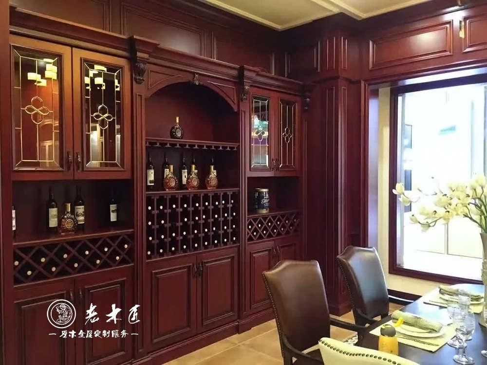 木工做欧式小酒柜图片