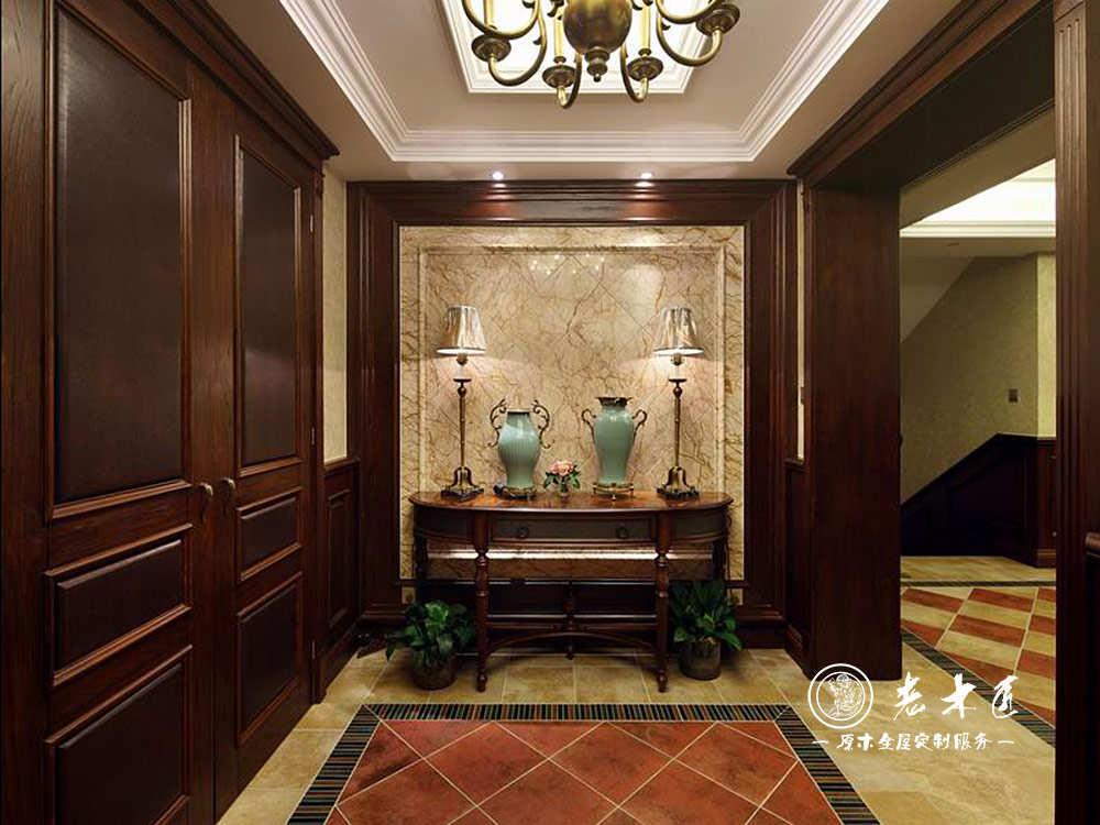 门厅玄关效果图 -漳州老木匠