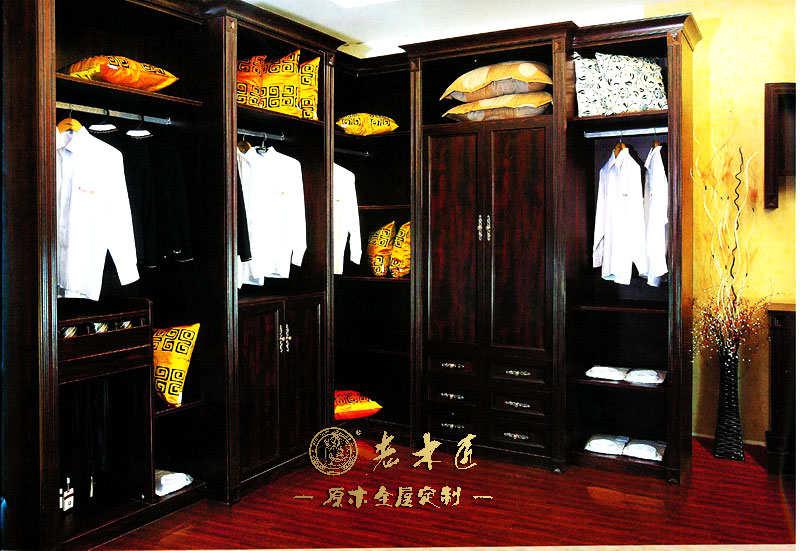 卧室衣柜设计效果图 -漳州老木匠