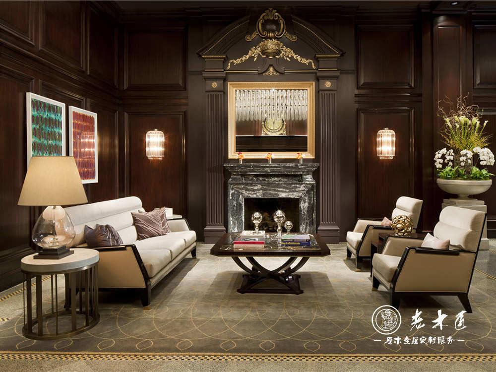室内木质护墙板图片