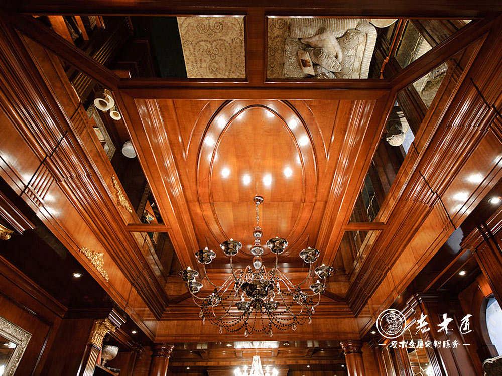 欧式吊顶多种名贵木材精心挑选