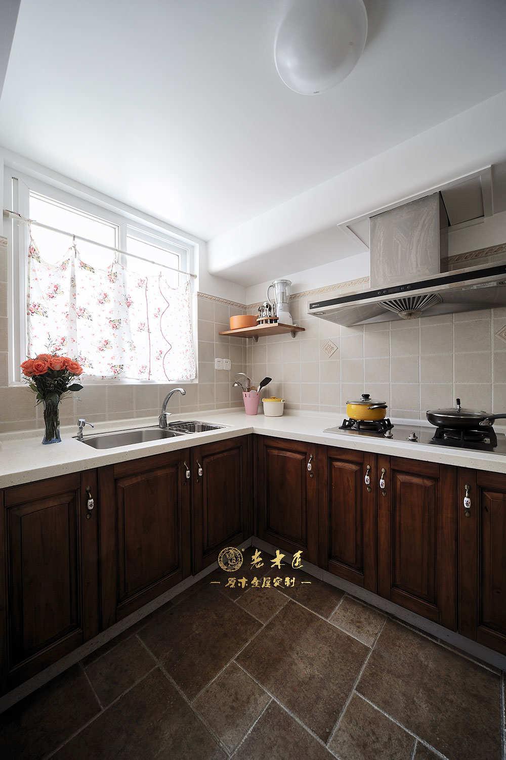 整体橱柜装修效果图 -漳州老木匠