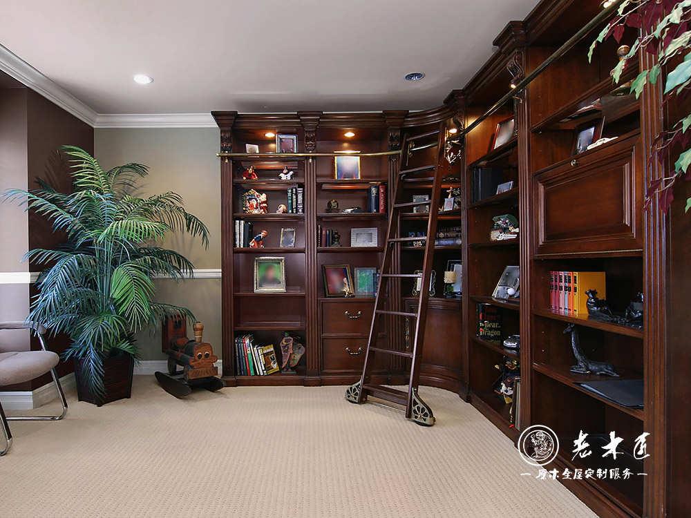 整体书柜装修效果图