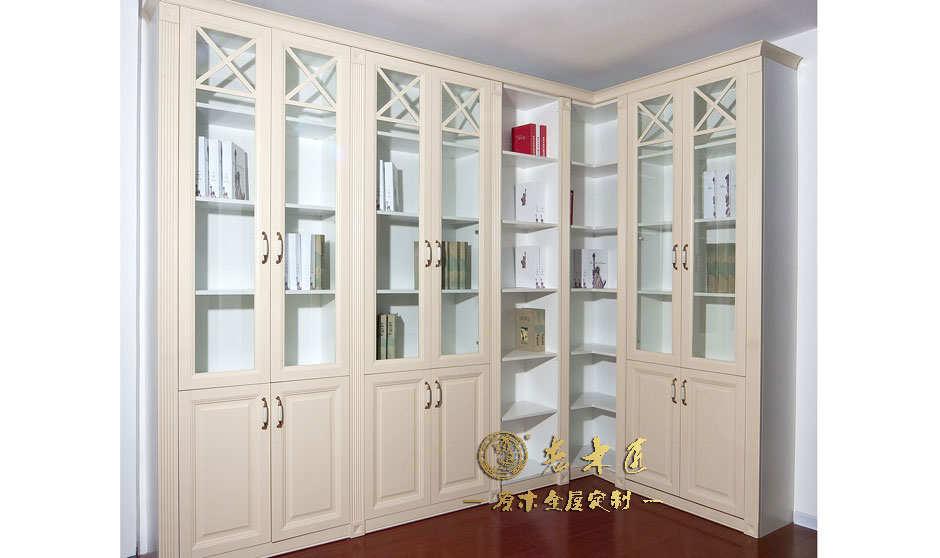 最新实木书柜效果图大全