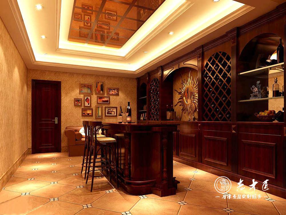 餐边酒柜装修效果图 -漳州老木匠