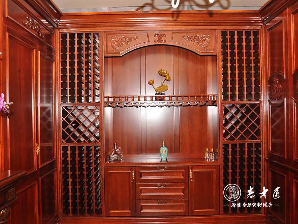 家庭酒窖酒柜设计图片