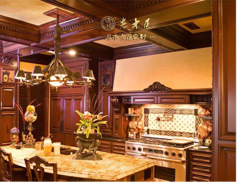 厨房实木吊顶装修效果图