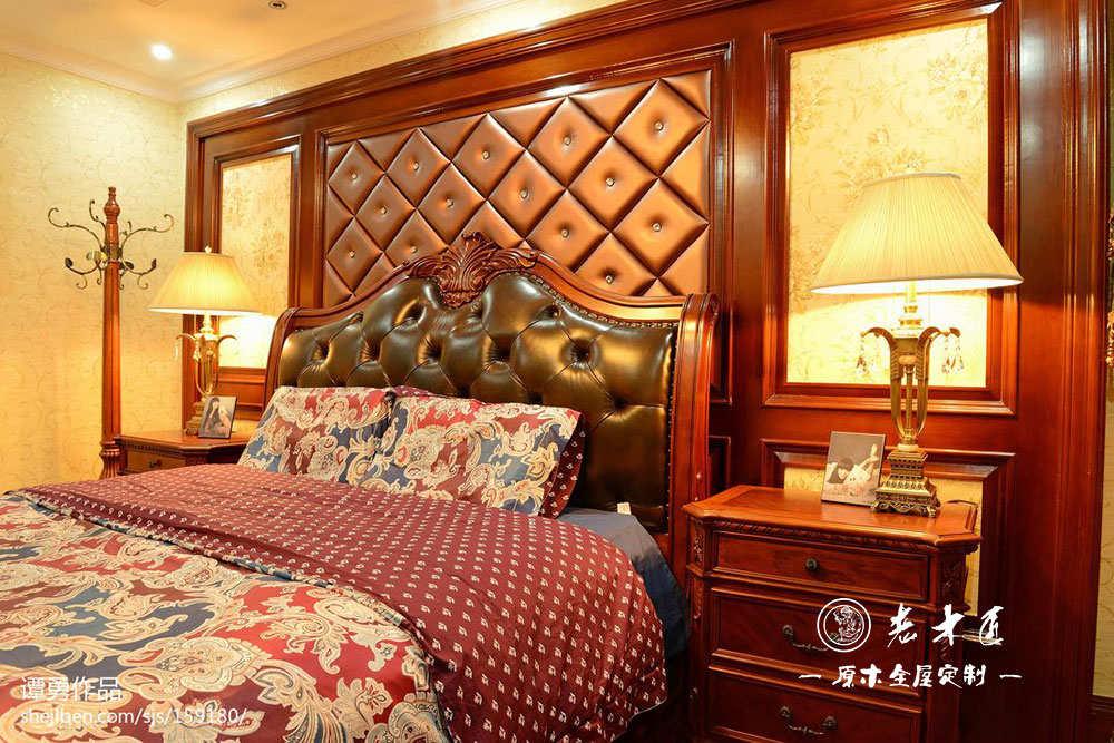 卧室床头背景墙设计图片