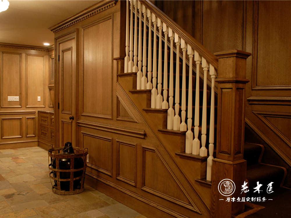楼梯护墙板设计效果图
