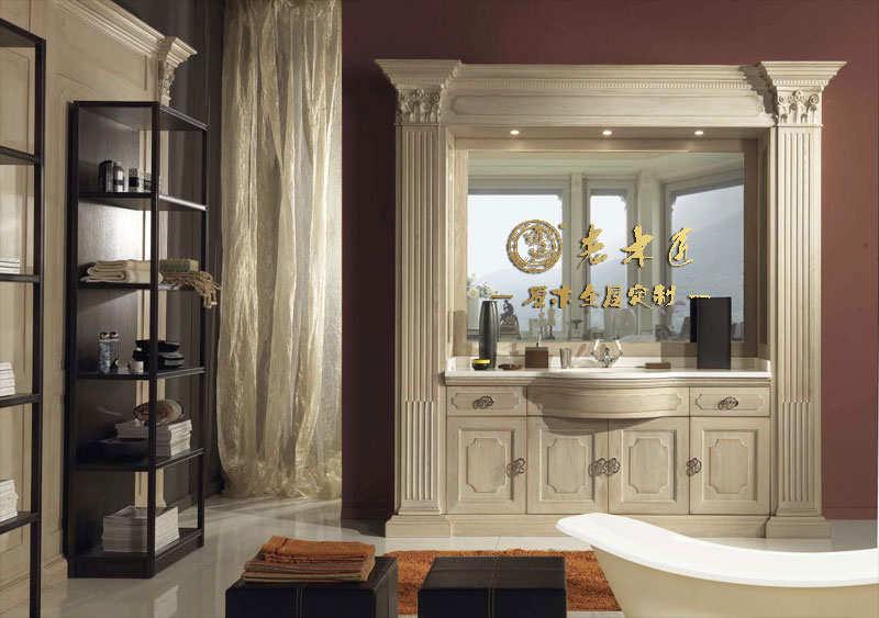 欧式橡木浴室柜定制厂家
