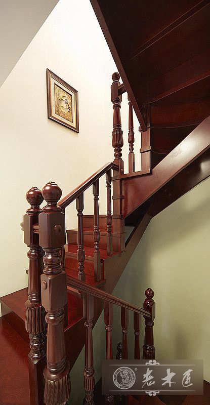 实木楼梯扶手价格 -漳州老木匠
