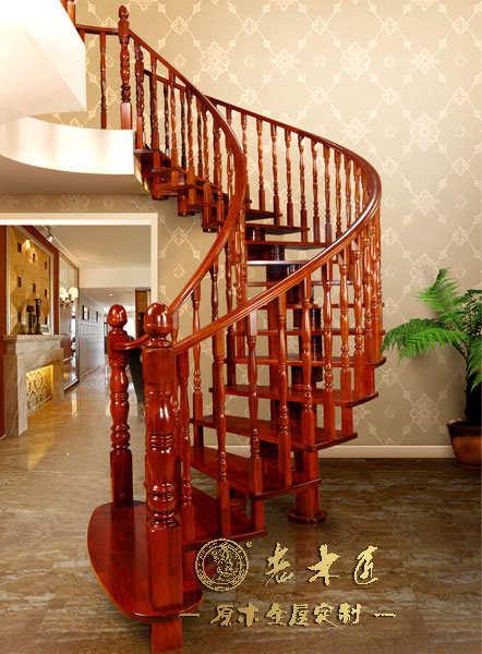 简欧风格楼梯扶手图片