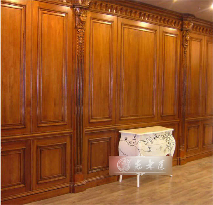 护墙板报价 高档实木护墙板定制价格