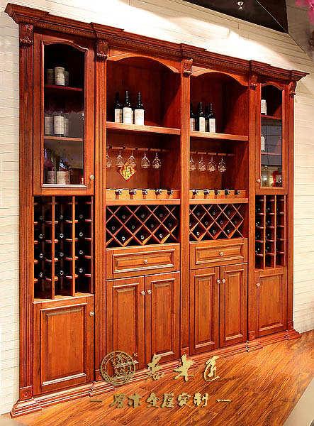家庭木工做的酒柜