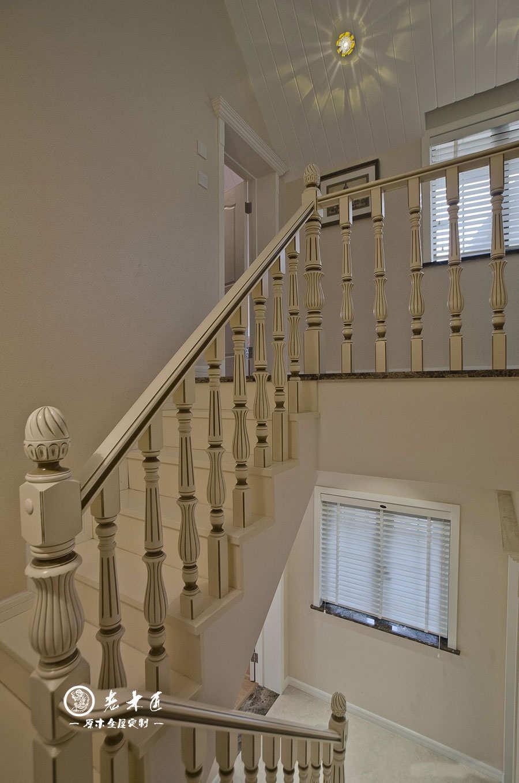 欧式实木楼梯订制品牌