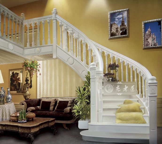 欧式实木楼梯订制尺寸