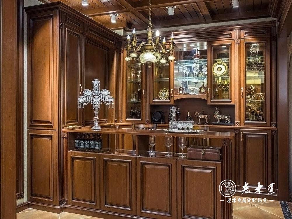 欧式酒柜定制价格 欧式整体酒柜价格