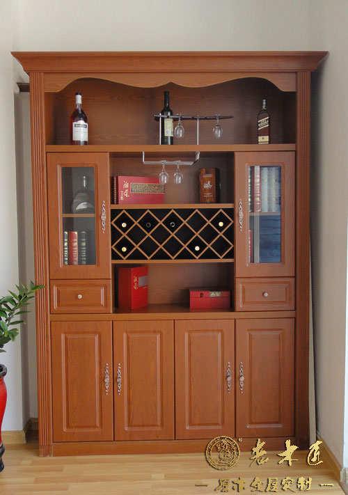整体酒柜设计材料 欧式酒柜定制材料