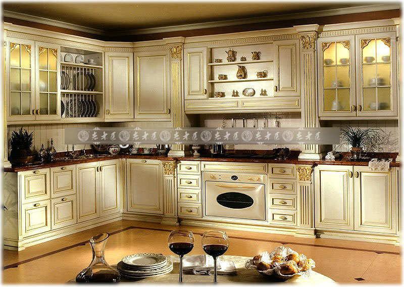 老木匠实木橱柜,原木打造环保家居,整体橱柜定制独特的设计风格!