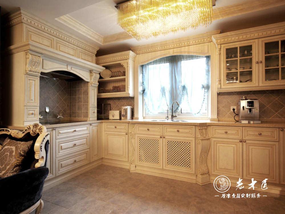 厨房橱柜价格 整体橱柜订制价格 -漳州老木匠