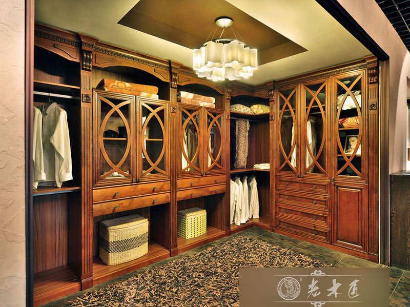 整体衣柜图片 走入式衣柜定制图片