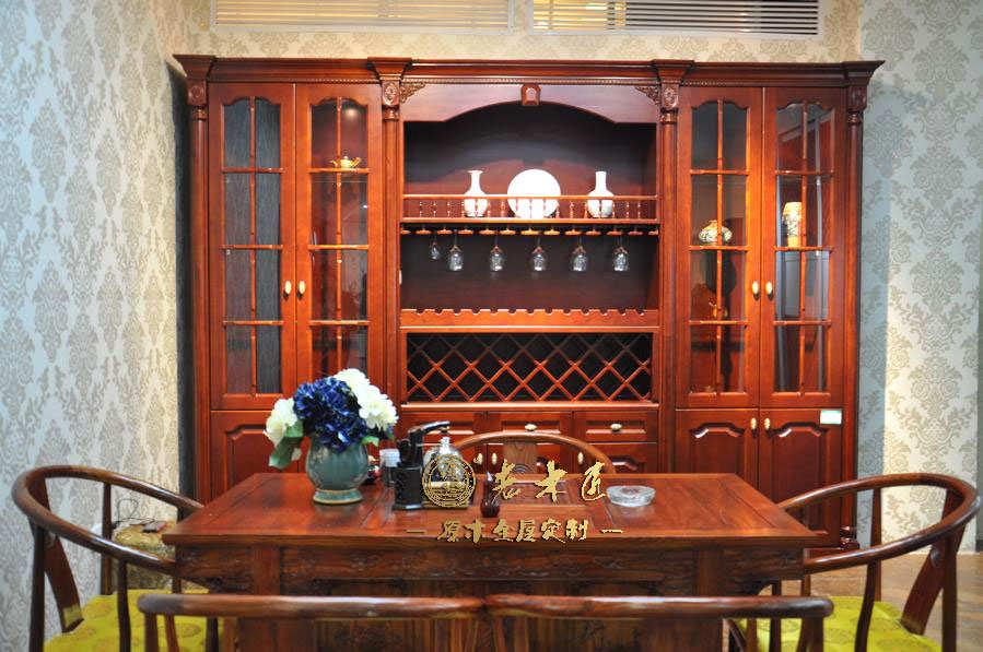 室内装修就选老木匠高端原木装修