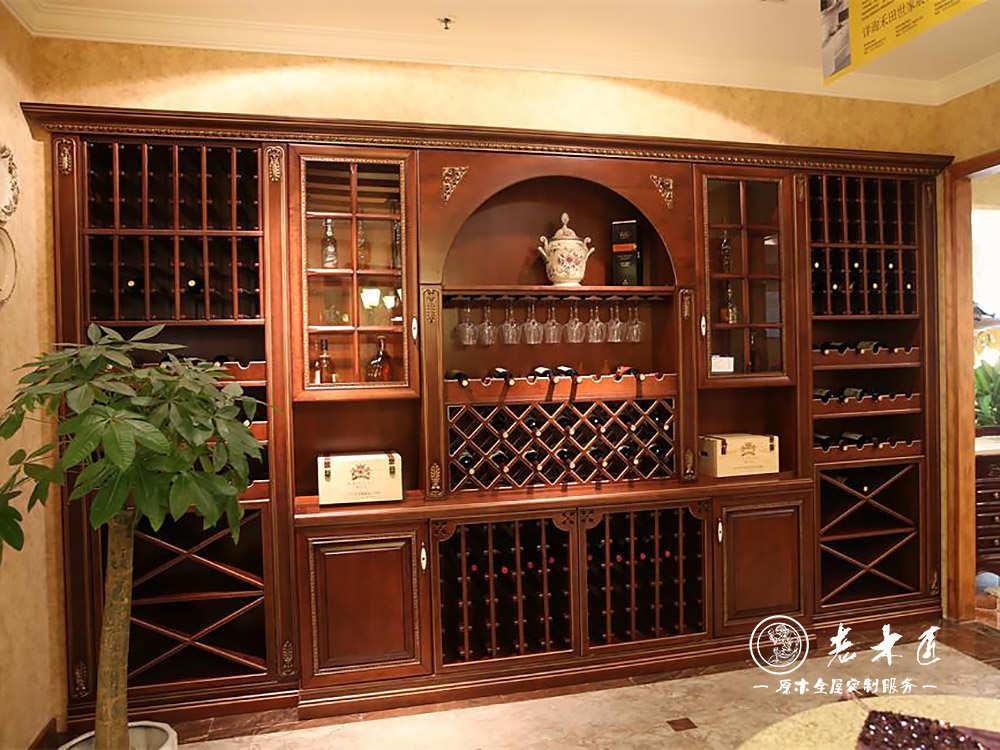 酒柜蜂蜡涂,实木酒柜设计尺寸服务热线:13859205278.
