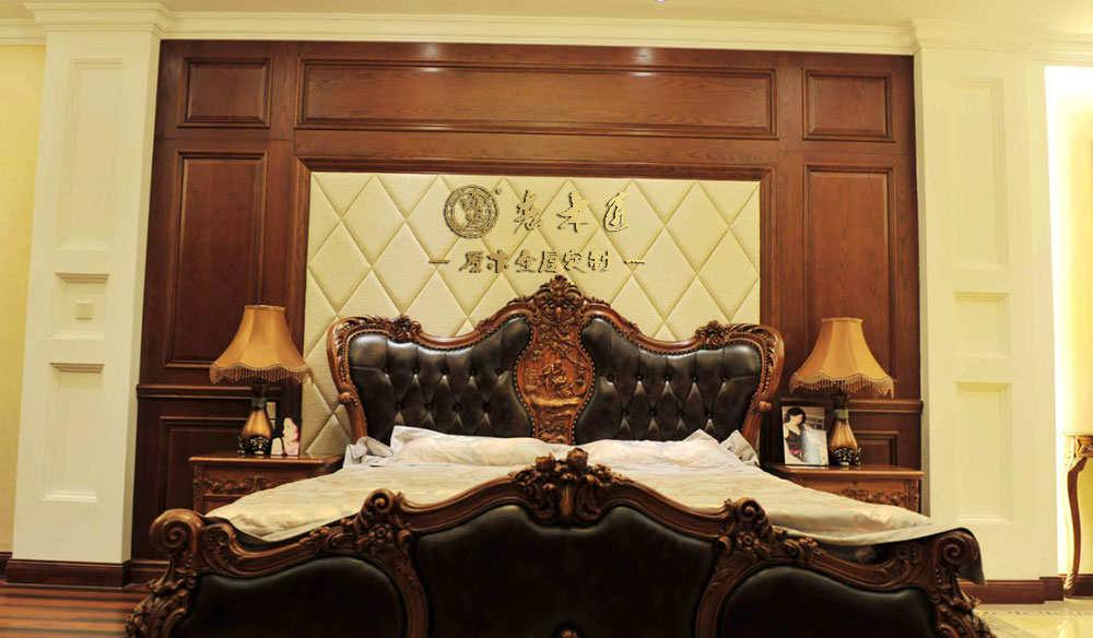 原木背景墙材料 卧室床头背景墙订制材料