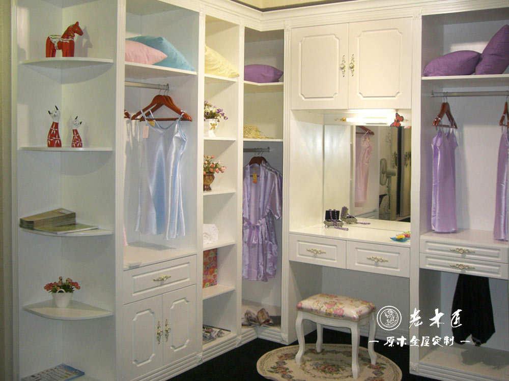 走入式衣柜房间设计图