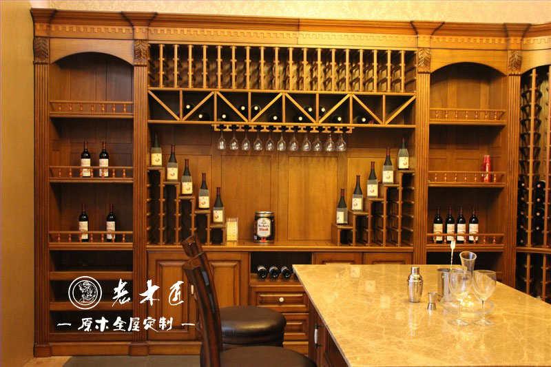 欧式酒柜设计效果图 实木酒柜设计效果大全