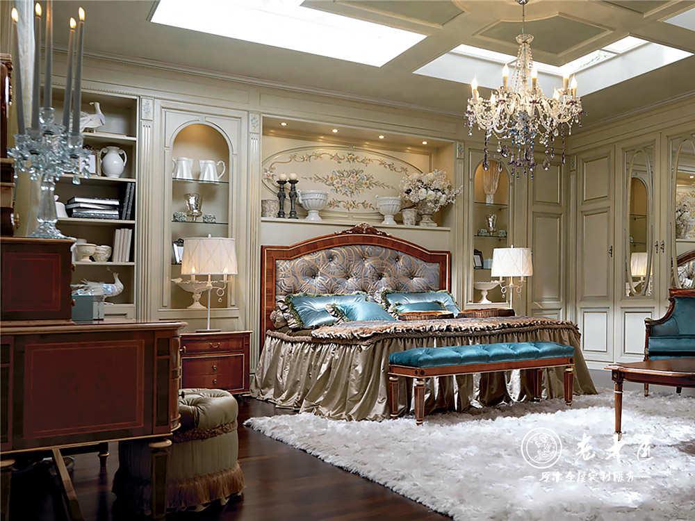 欧式卧室床头背景墙定制 卧室实木背景墙