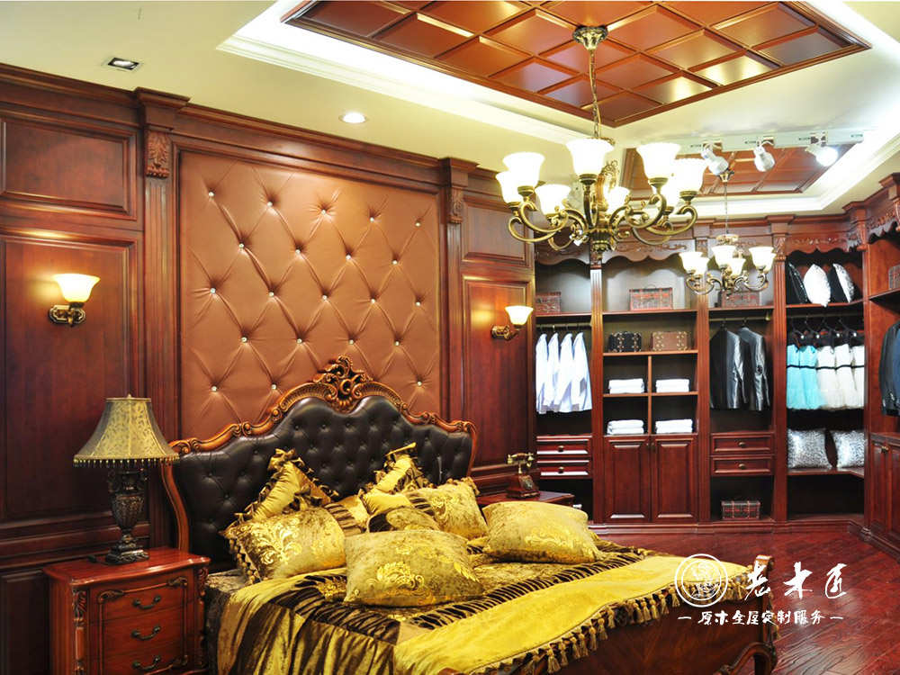 欧式卧室床头背景墙订制图片 卧室床头背景墙图片