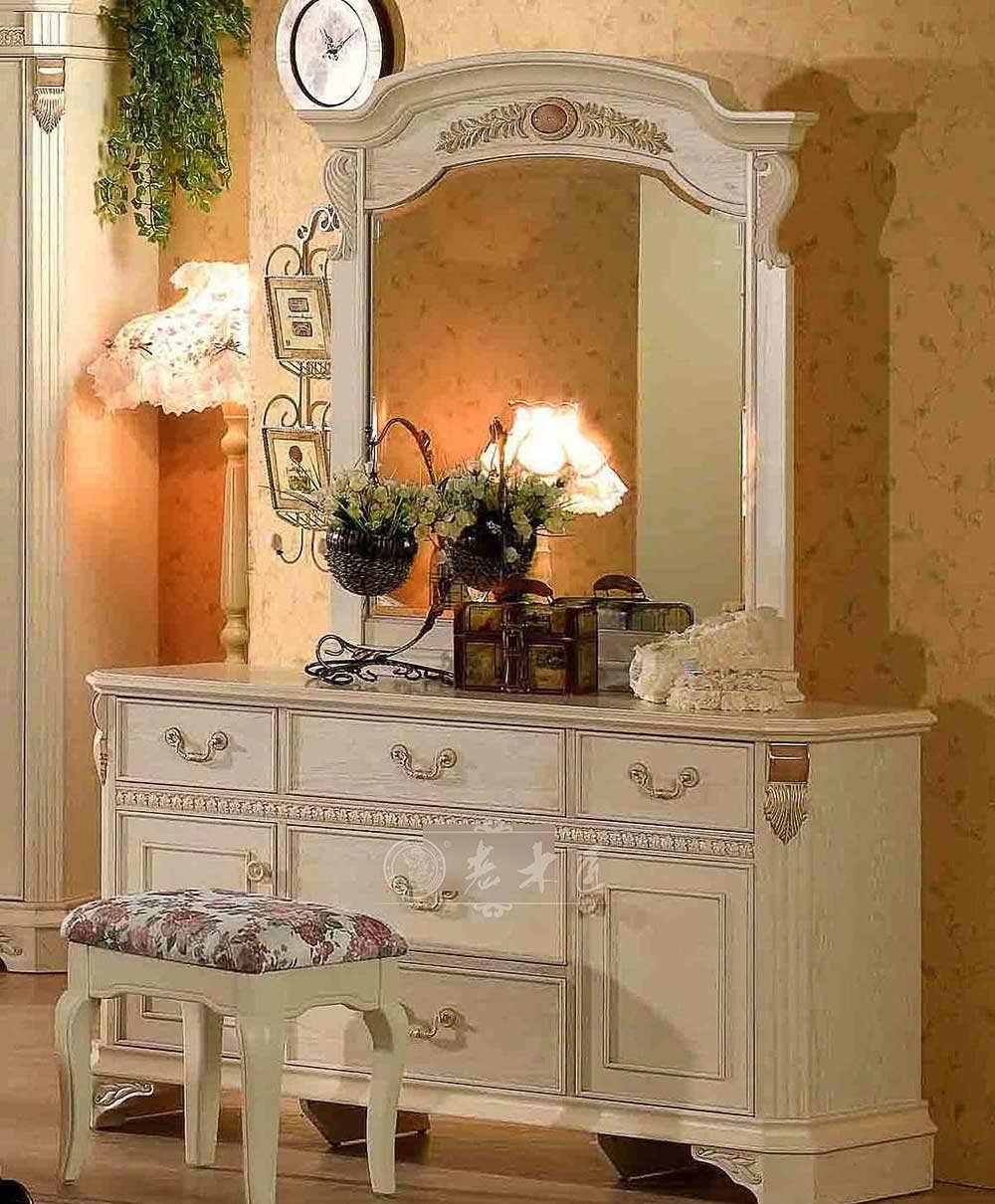卧室梳妆台设计品牌 欧式梳妆台品牌