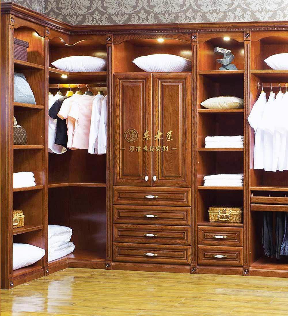 定制衣柜效果图 整体衣柜效果图 -漳州老木匠