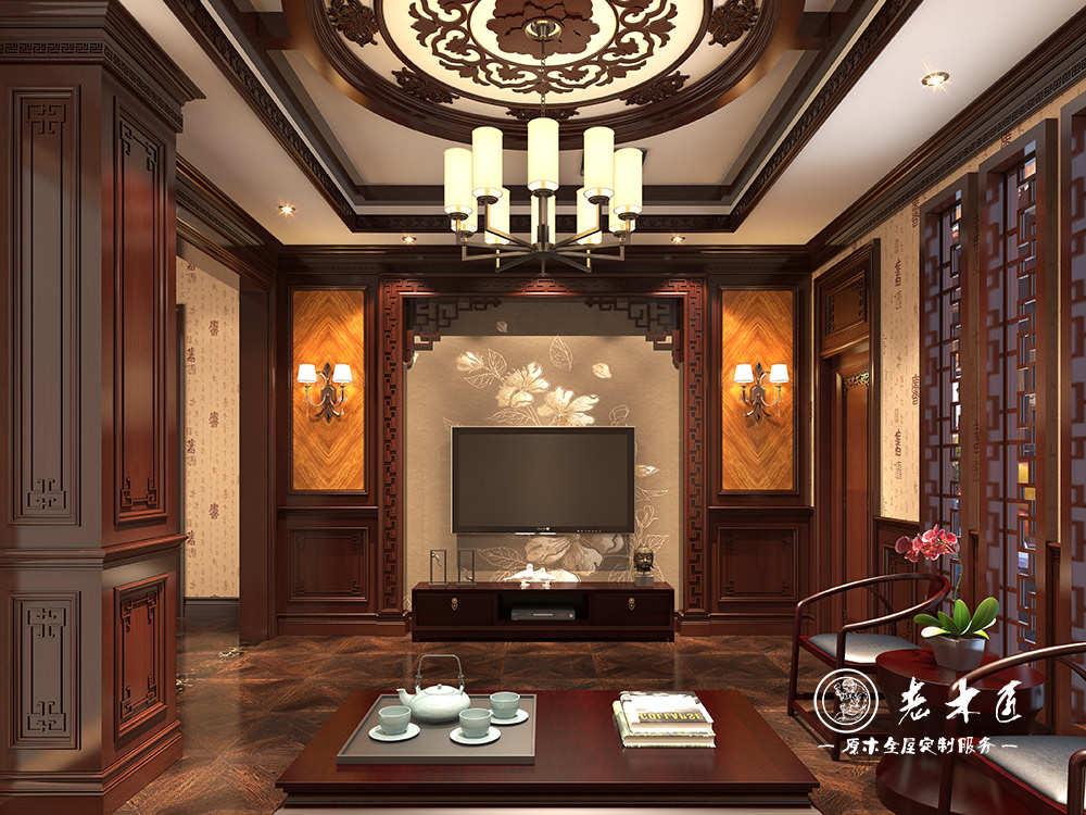 中式风格整木家居定制效果图