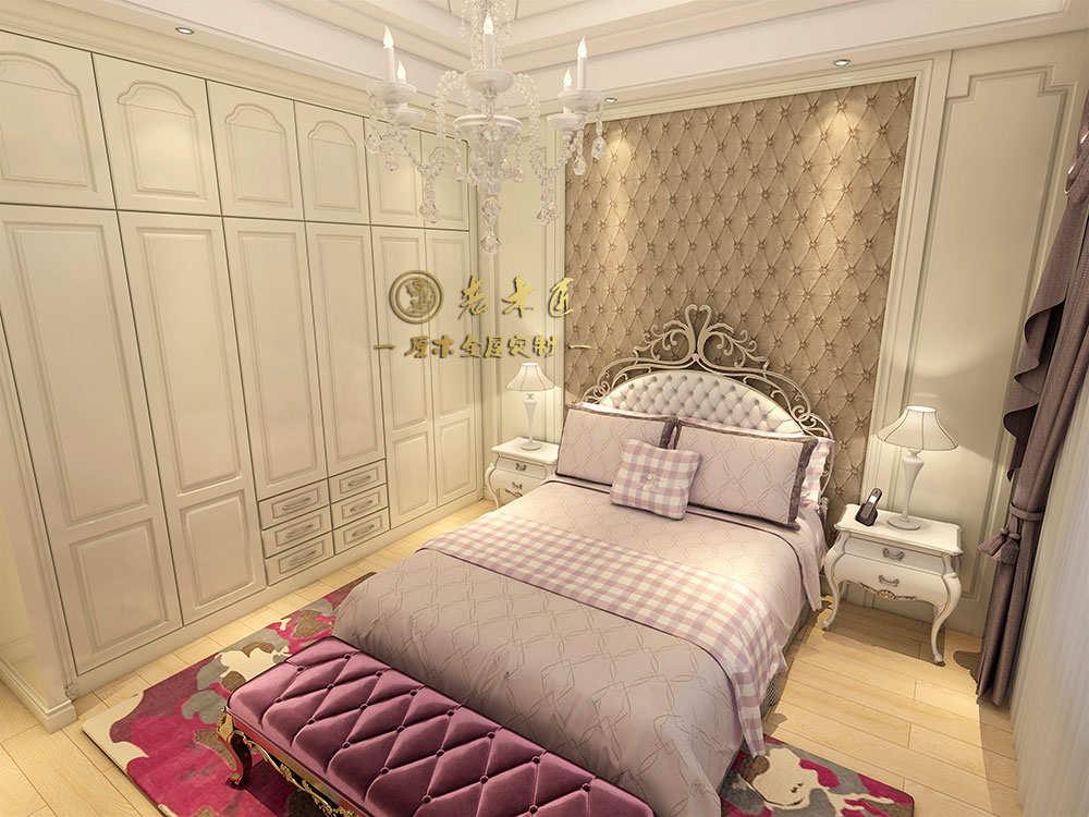 卧室床头背景墙定制价格 欧式实木背景墙价格