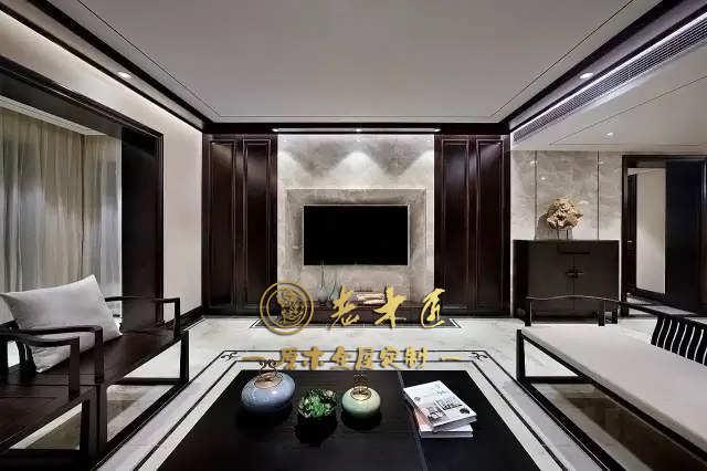 170平米新中式原木全屋定制案例