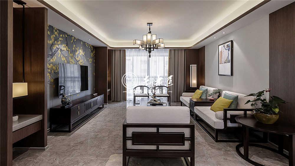146㎡新中式私人住宅,开启中国绅士新品味!