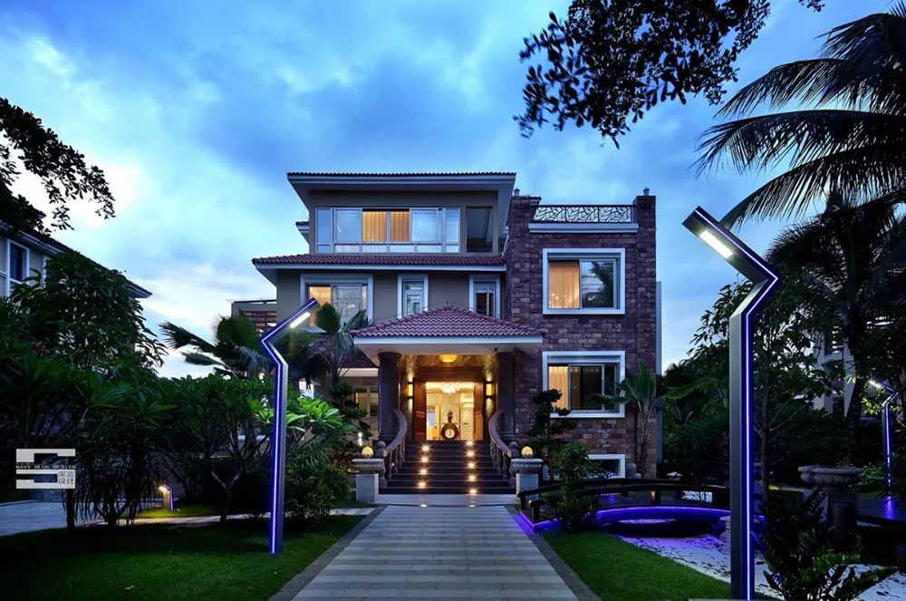 现代原木轻奢别墅家居,极简轻奢设计!