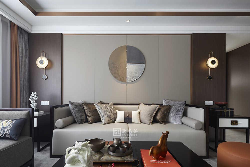 135㎡原木轻奢新中式风家居,打造真正适合都市白领的逸居住宅!