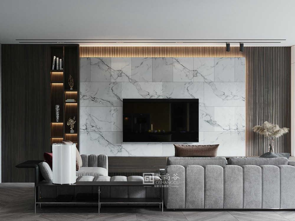 轻奢家居,原木+混凝土,创造平静的空间!