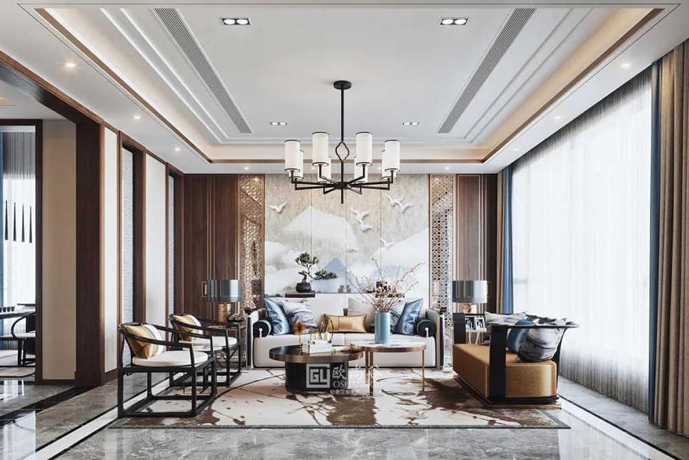 轻奢新中式家居,雅而低调的东方式奢华!