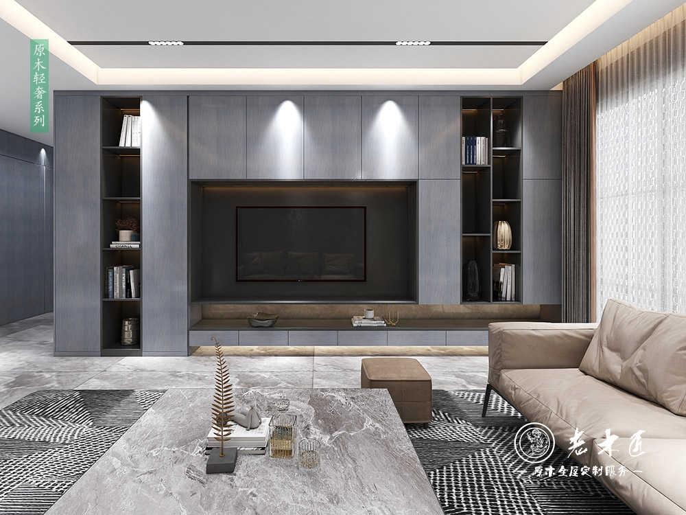 现代简约客厅_现代简约风格客厅设计